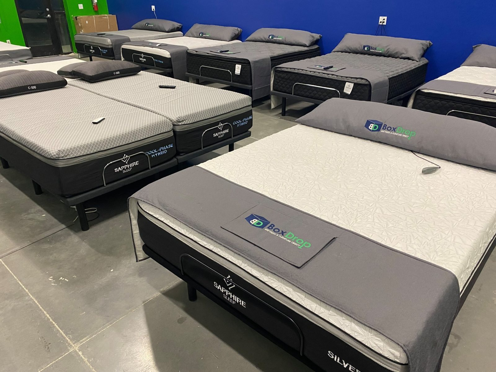 Queen Mattress Clearance Center and Adjustable bases